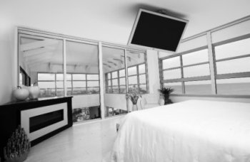 Moderní stropní držák na Tv Sigden SM03