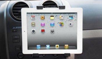 Držák na tablet do auta do větrací mřížky HS-2301
