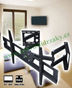 Rohový TV držák Fiber Novelty FN13