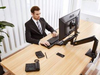 Fiber Mounts FC35 stolní držák monitoru a klávesnice